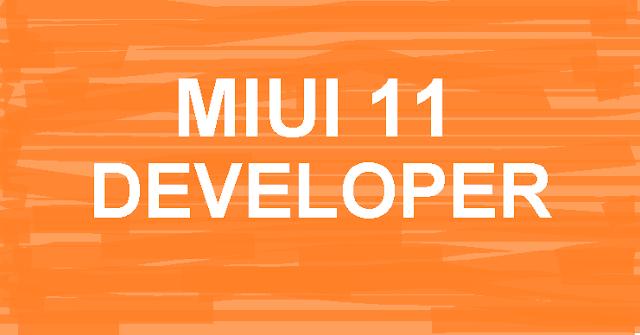 Update MIUI 11 Versi Developer Untuk MI 9 User