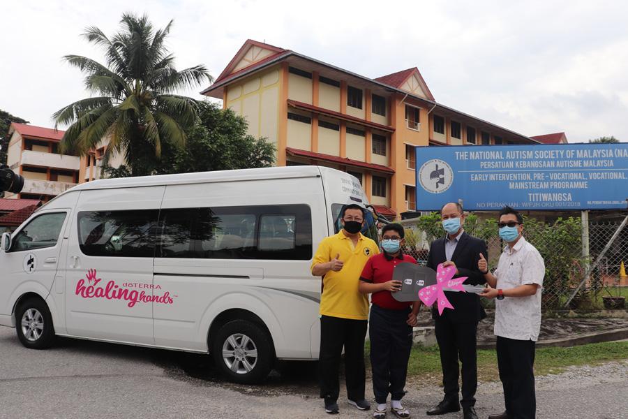 Vehicle Sponsorship for the National Autism Society of Malaysia (NASOM)