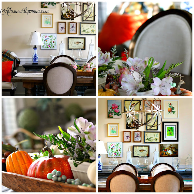 centerpiece, dough, bowl, decor, styling, pumpkins, french, farmhouse, athomewithjemma.com