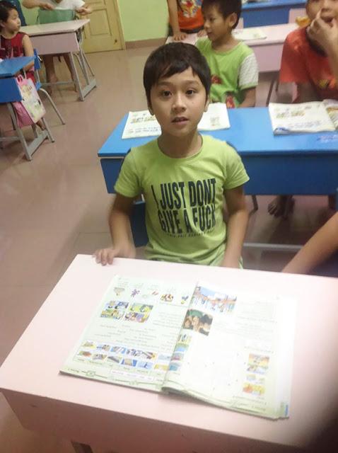 Belajar bahasa Inggris di Vietnam