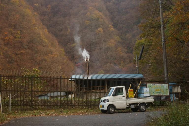 Autumn leaves in Okutama