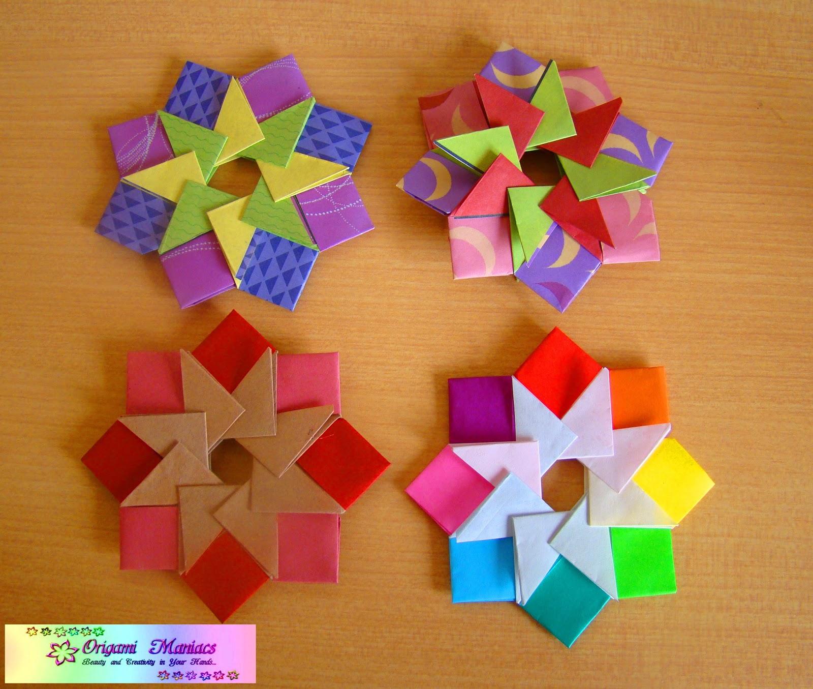 origami maniacs mandala by tomoko fuse. Black Bedroom Furniture Sets. Home Design Ideas