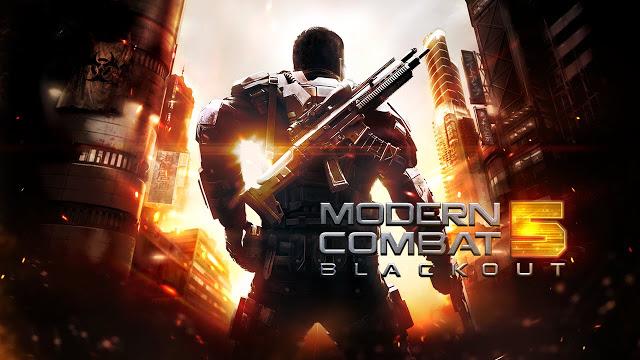 Modern Combat 5 : Blackout v2.0.6g MOD APK + Data Full Download