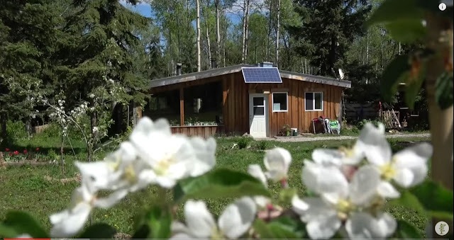 Screen Capture From The Video:  Family Of Seven Lives Off-Grid - The Family's Home