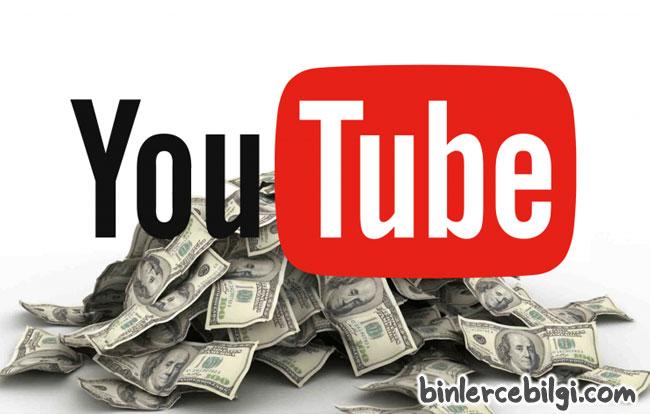 Youtube vidolarından nasıl para kazanılır? Youtube izlenme başına ne kadar ücret veriyor? Youtuber lar ne kadar kazanıyor?