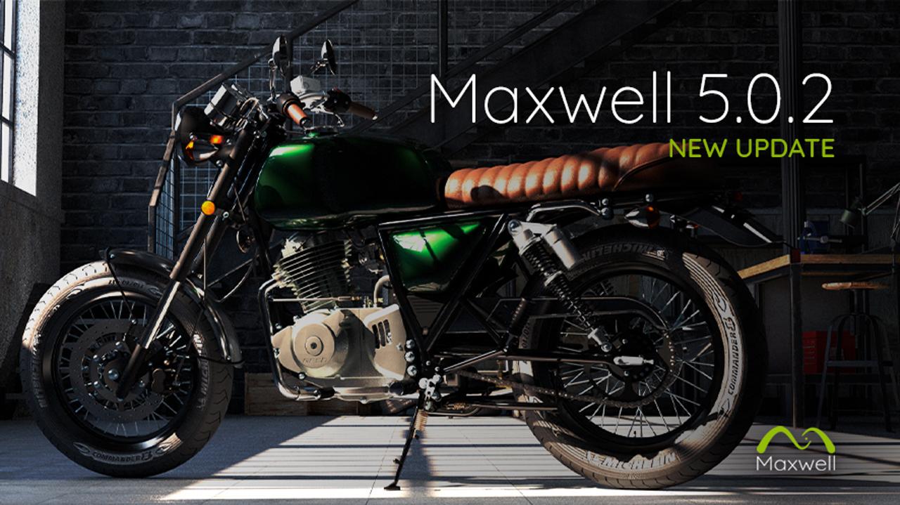 تحميل NextLimit Maxwell Studio 5.0.2 برنامج عرض ثلاثي الأبعاد للمصممين والمهندسين المعماريين