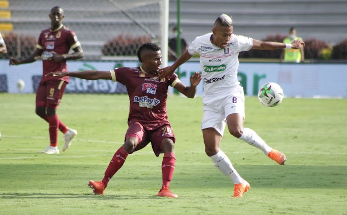 DEPORTES TOLIMA y un rival que se le resiste: Tres partidos sin ganarle al Once Caldas como local