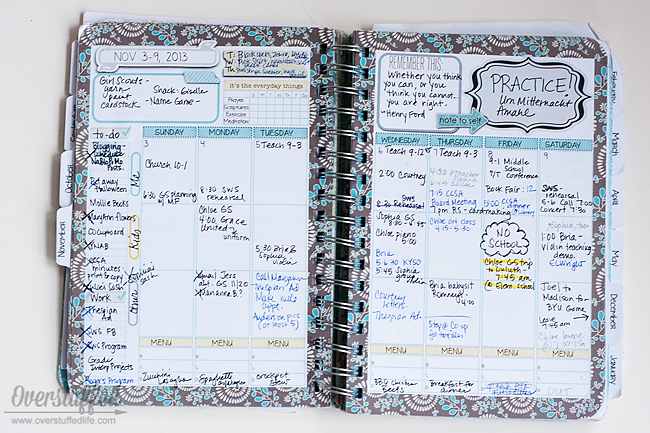 Choosing a Planner That is Right for You - Overstuffed