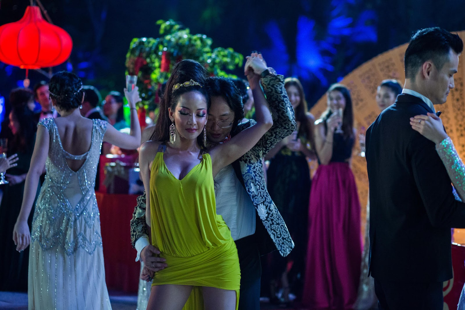 Fiona Xie and Remy Hii in Crazy Rich Asians