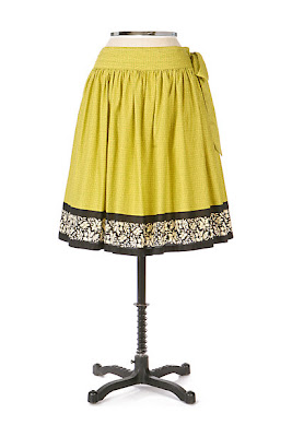 Anthropologie Wet Season Skirt by Odille