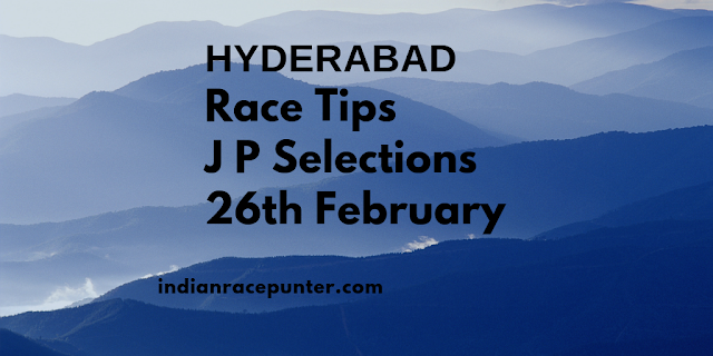 Hyderabad Race Tips 26th February, Track Eagle, Track eagle.