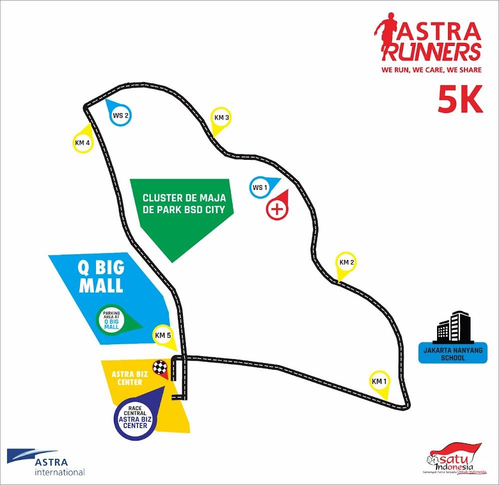 5K Satu Indonesia Run • 2018