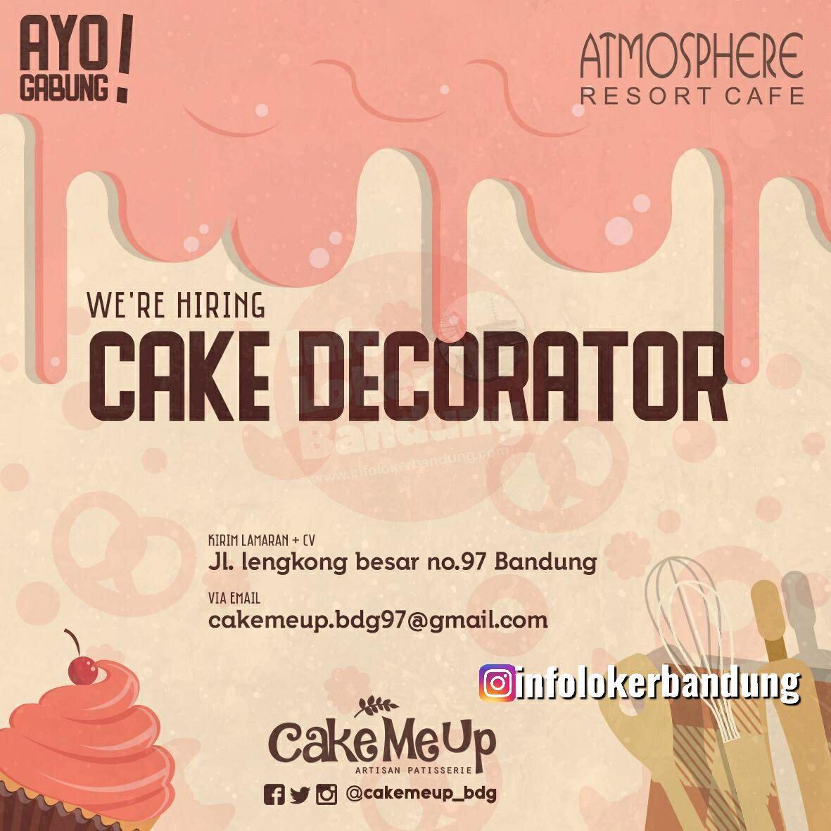 Lowongan Kerja Cake Make Up Atmosphere Cafe Bandung Mei 2019