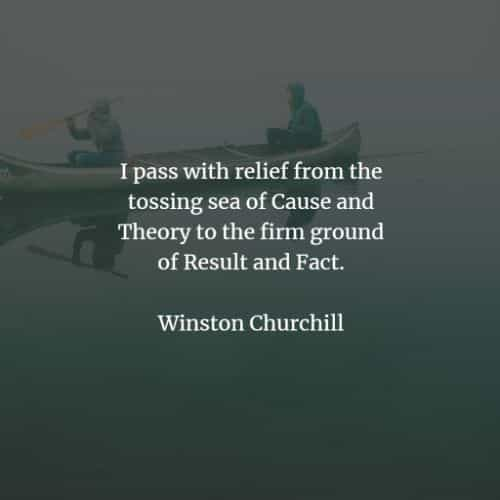 Famous quotes and sayings by Winston Churchill