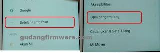 Bagaimana CARA ATASI lupa email verifikasi xiaomi redmi 5a