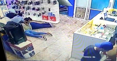 Violento asalto a un comercio en Garupá.