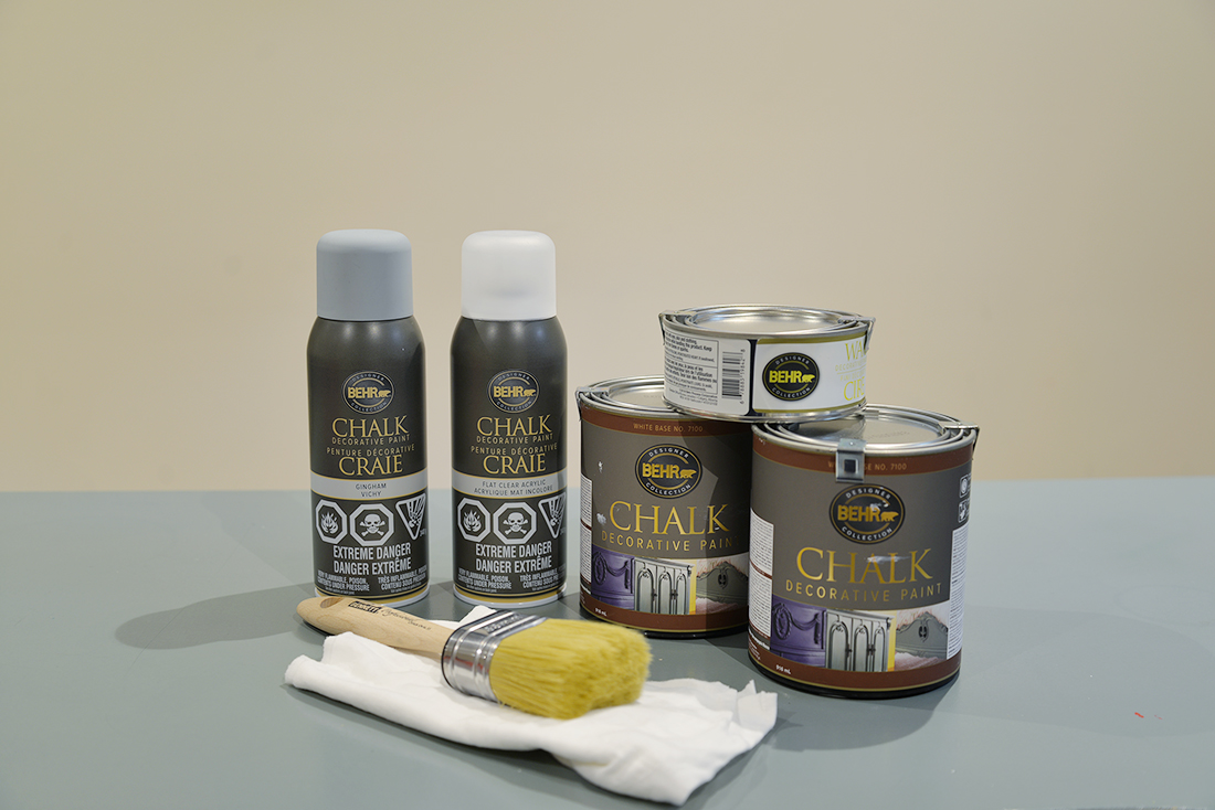 How To Paint Furniture With Behr 174 Chalk Decorative Paint