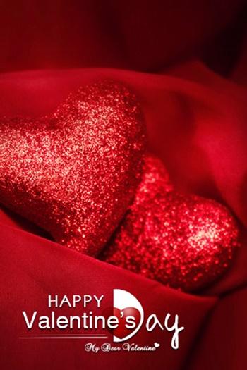 valentine day, valentine, valentine hearts, red hearts for loved ones