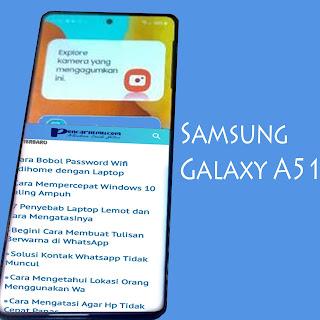 Cara Screenshot Samsung A51 Tanpa Tombol Fisik