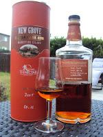 New Grove Single Cask Rum 2005 - 55°, fût 68-16, 392 bouteilles, vieilli en fût de chêne du limousin, sélection pour les 10 ans de The Nectar