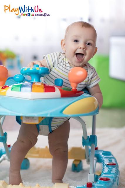 Trotteur jumperoo pour bébé