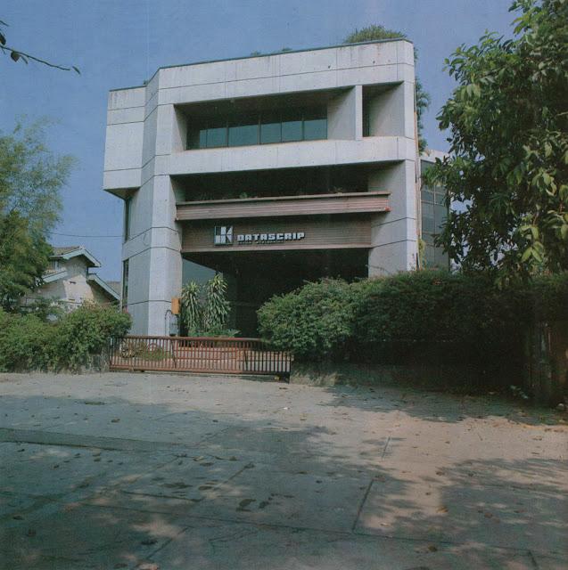 Dealer Volkswagen Kemayoran sebagai Gedung Datascrip, sekitar 1979-1983