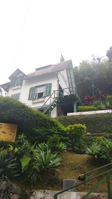Casa de Santos Dumont em Petrópolis, região serrana do Rio de Janeiro