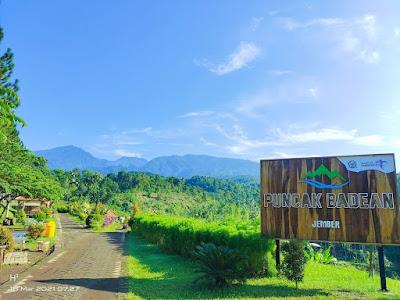 Wisata Puncak Badean Bangsalsari Jember