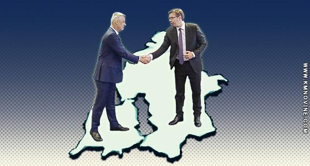 #Kosovo #Metohija #Srbija #Vučić #Tači #kmnoine #MagazinTaloid