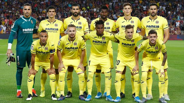 Jadwal Skuad Villarreal 2020