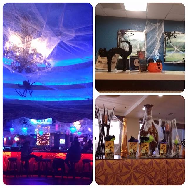Ambientes decorados para o Halloween