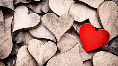 Wooden-hearts-beautiful-love-hdimages