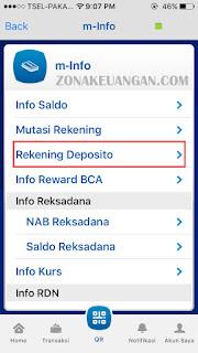 rekening deposito BCA