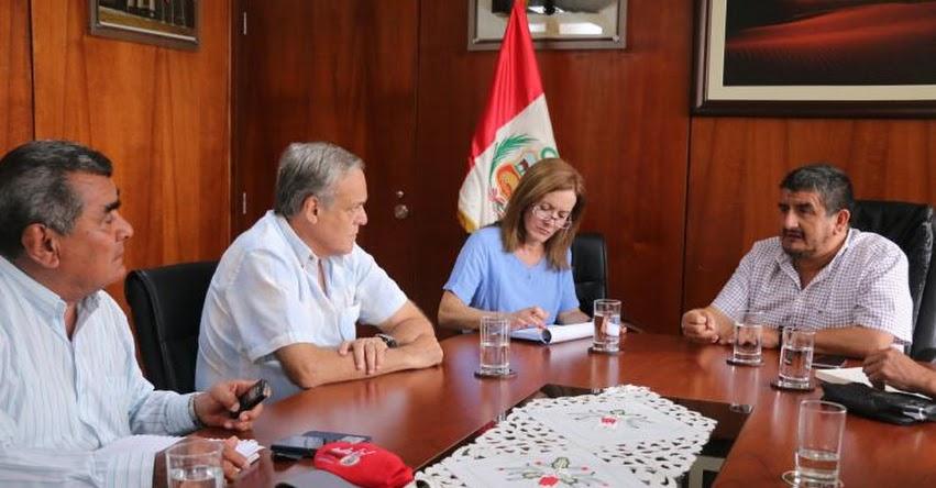 Piden a Ministra de Educación mejorar presupuesto para atención de colegios por estado de emergencia en Lambayeque
