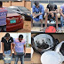 EFCC Caught some Yahoo boys with Charms And Car Recovered In Ibadan (Nigeria)