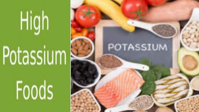 Foods high in potassium | potassium rich food