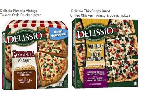 Nestle Delissio Pizza Recall