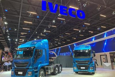 Novidades da Iveco na abertura do Sala do Transporte