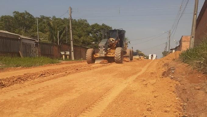 MOBILIDADE: Edwilson Negreiros faz pedido e Prefeitura asfalta Eça de Queiroz