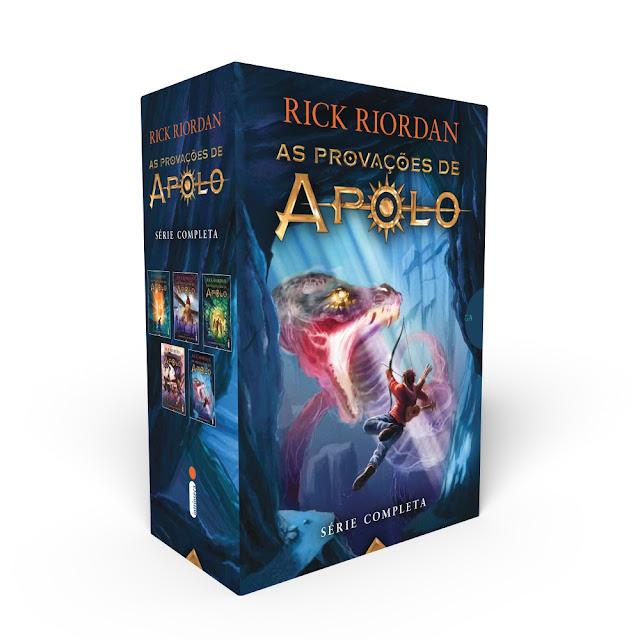 Box Rick Riordan