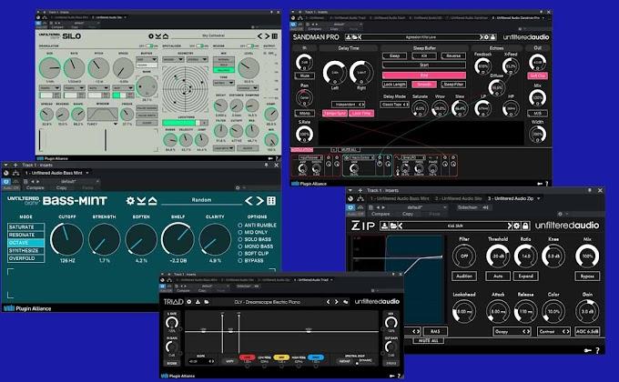 Plugin Alliance - Unfiltered Audio - Plugins Bundle 2021.5 VST, VST3, NKS, AAX x64