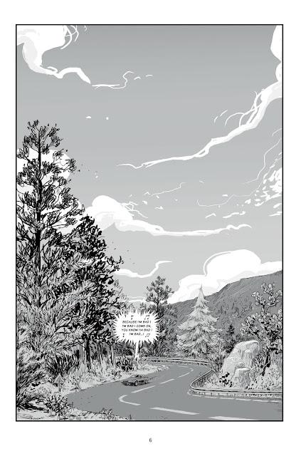 """page de """"LES SOUVIVANTS"""" de Davy Mourier et Edouard Cour chez Delcourt"""