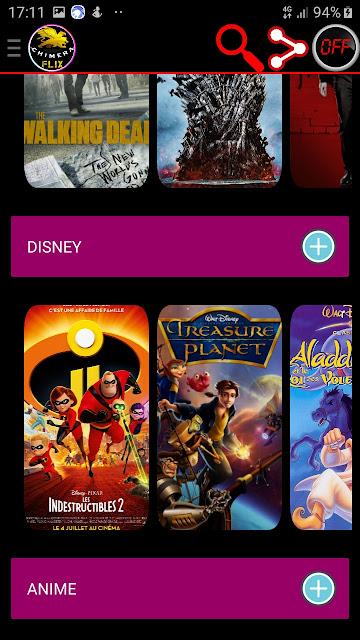تحميل تطبيق ChimeraFlix APK لمشاهدة احدث الافلام العالمية و المسلسلات و الانيمي 2020