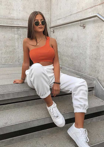 outfits casuales con jogger