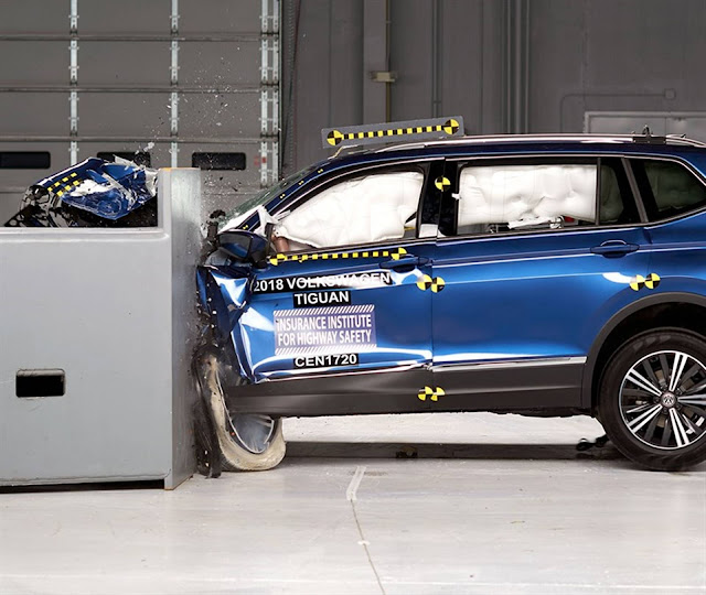 VW Tiguan ganha Top Safety Pick + no IIHS dos EUA