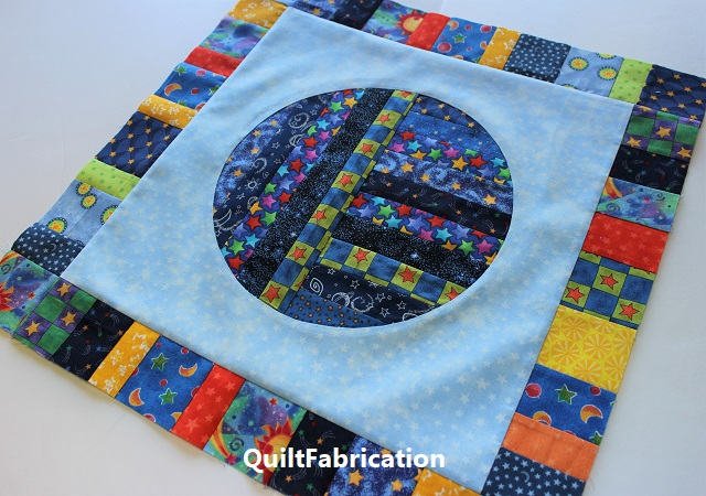 new round robin quilt at QuiltFabrication