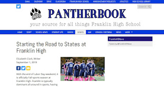 """Starting the Road to States at Franklin High"""