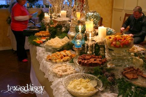 2013 Christmas Party Table