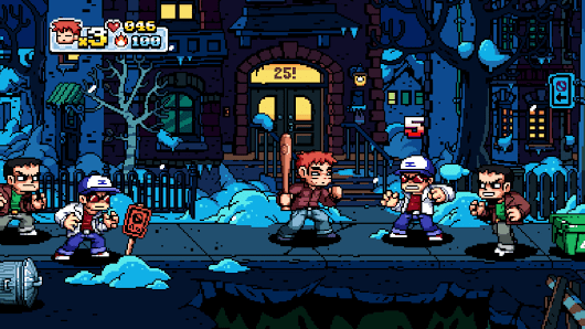 Scott Pilgrim vs. The World: The Game gameplay