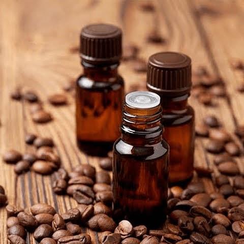 Aceite de café para el cabello